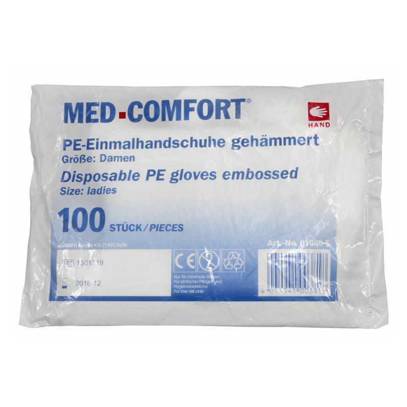 e8c12084e11afd Einweg-PE-Handschuhe Gr. S gehämmert im Bautel