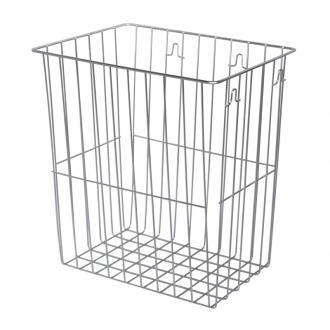 racon m basket abfallkorb 20l metall beschichtet wei. Black Bedroom Furniture Sets. Home Design Ideas