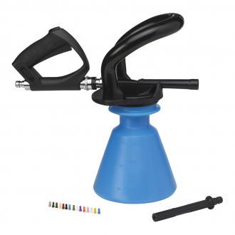 vikan ergo schaumspritze mit strahlrohr 2 5 liter blau. Black Bedroom Furniture Sets. Home Design Ideas