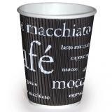 Kaffeebecher aus Pappe WAVE